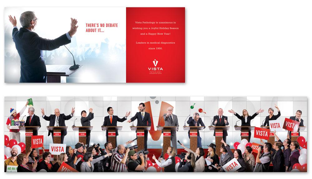 2015 Vista Pathology Holiday Card