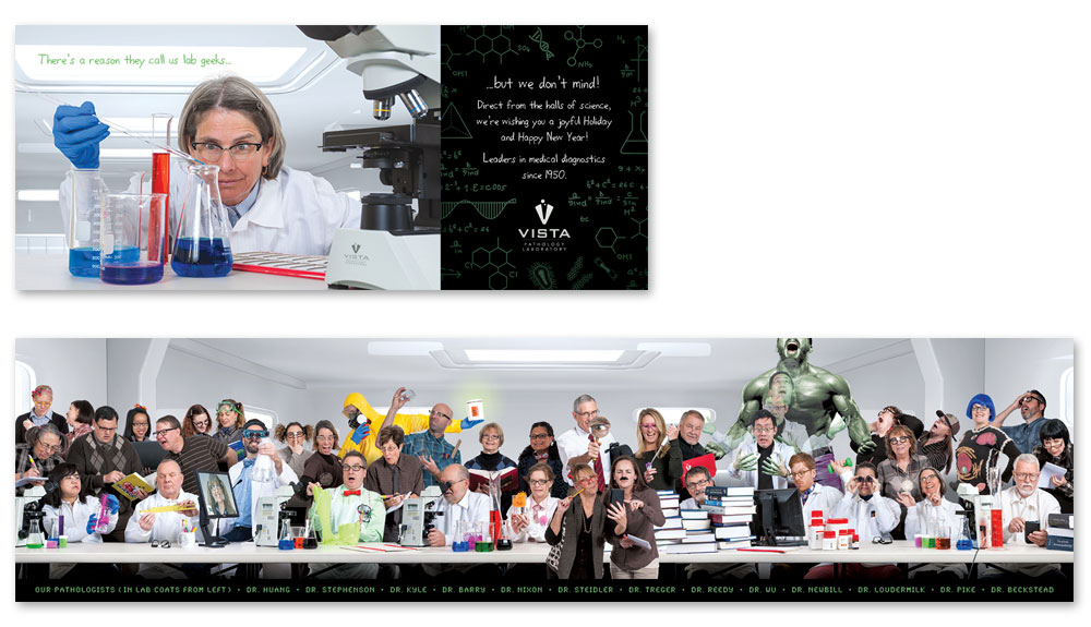 2016 Vista Pathology Holiday Card